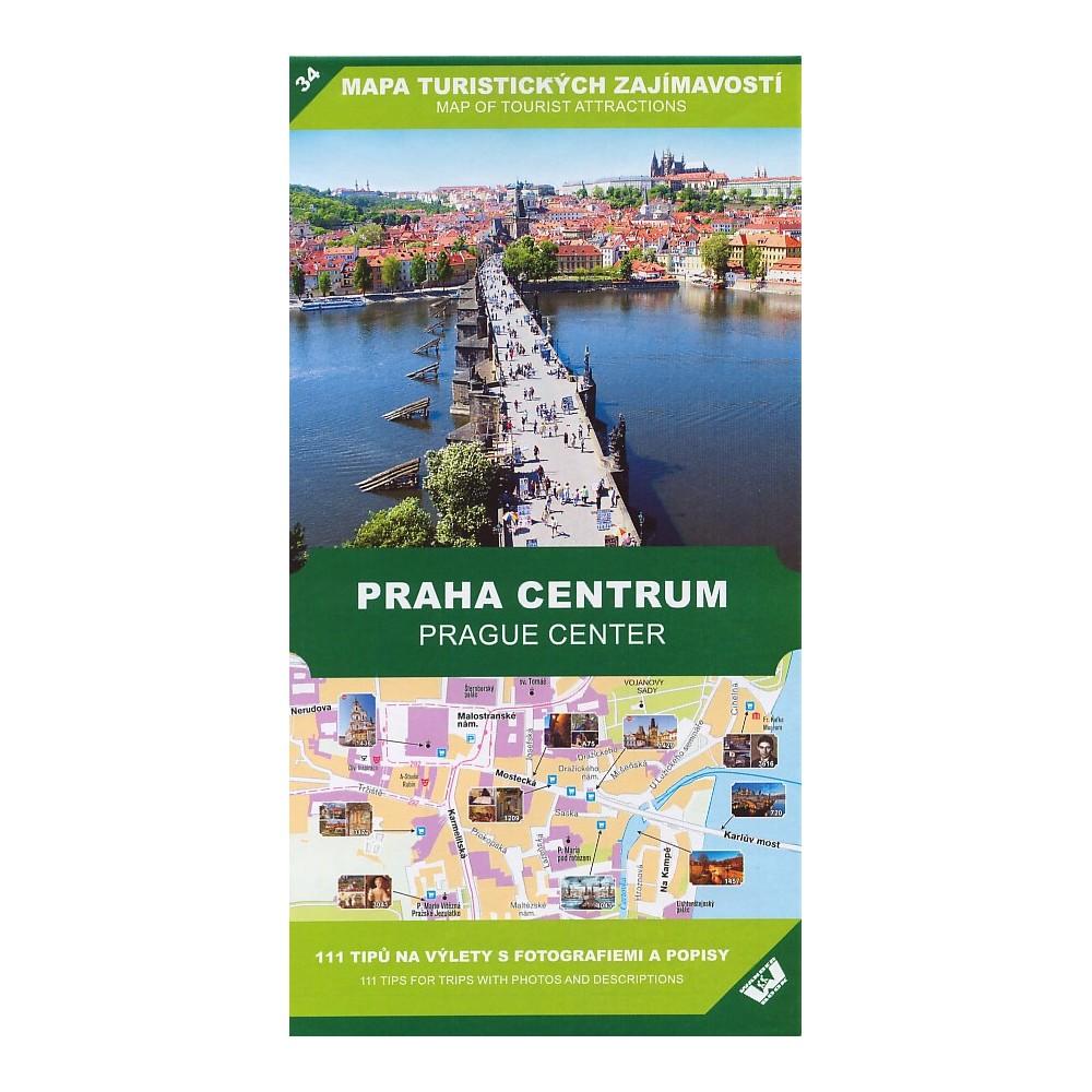 Mapa Turistickych Zajimavosti Praha Centrum