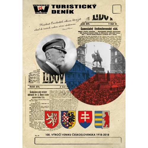 TURISTICKÝ DENÍK - 100. VÝROČÍ VZNIKU ČESKOSLOVENSKA