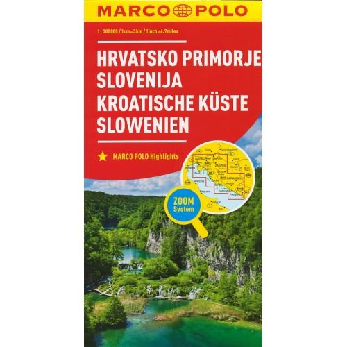 CHORVATSKÉ POBŘEŽÍ, SLOVINSKO