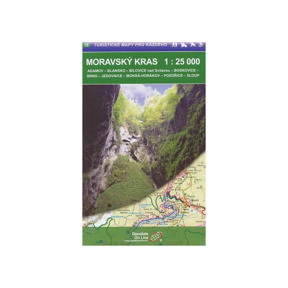 Turisticka Mapa Moravsky Kras