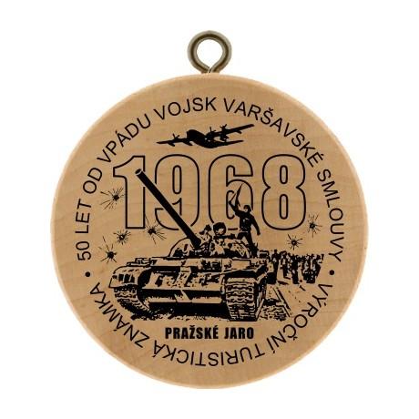 VTZ 50 LET OD VPÁDU VOJSK VARŠAVSKÉ SMLOUVY - PRAŽSKÉ JARO 1968