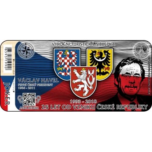 VTN 25 LET OD VZNIKU ČESKÉ REPUBLIKY
