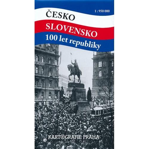 ČESKO - SLOVENSKO 100 LET REPUBLIKY