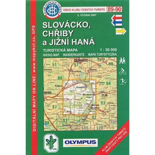89-90 SLOVÁCKO-CHŘIBY A JIŽNÍ HANÁ