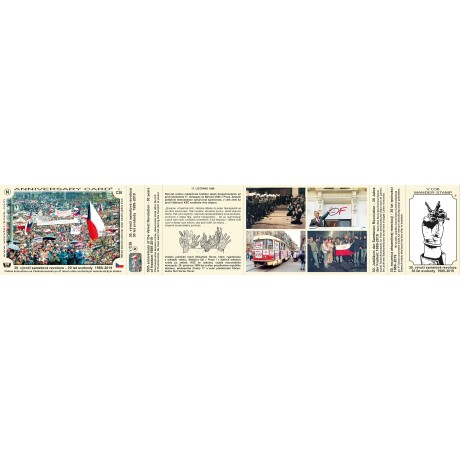 VTV 30. VÝROČÍ SAMETOVÉ REVOLUCE - 30 LET SVOBODY 1989-2019