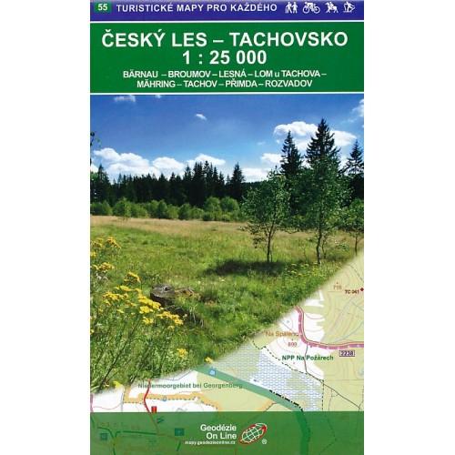 55 ČESKÝ LES - TACHOVSKO