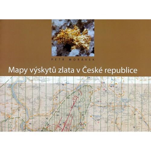 MAPY VÝSKYTŮ ZLATA V ČESKÉ REPUBLICE