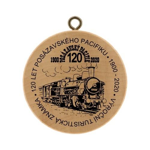 VTZ 120 LET POSÁZAVSKÉHO PACIFIKU 1900-2020