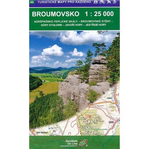 60 BROUMOVSKO