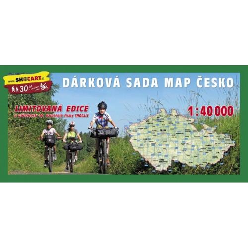 ČESKO - DÁRKOVÁ SADA TURISTICKÝCH MAP