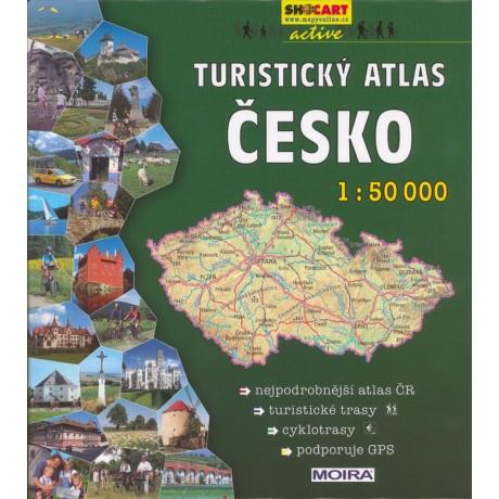 TURISTICKÝ ATLAS ČESKO + CYKLOTRASY
