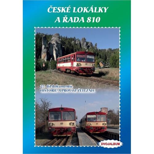 ČESKÉ LOKÁLKY A ŘADA 810