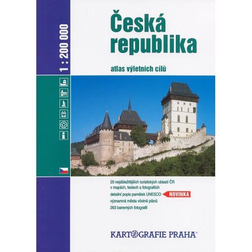 ČESKÁ REPUBLIKA-ATLAS VÝLETNÍCH CÍLŮ