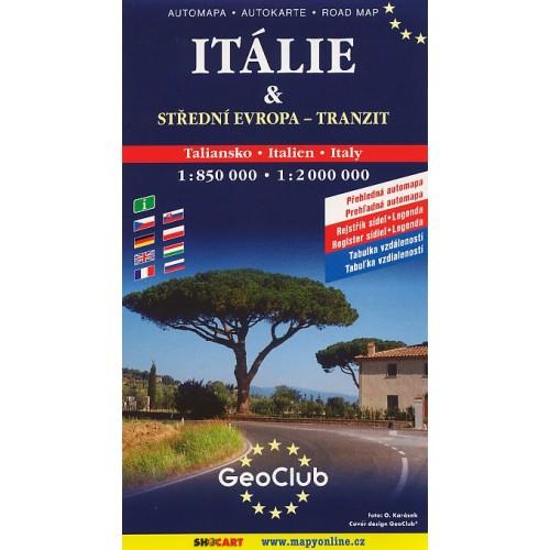 ITÁLIE & STŘEDNÍ EVROPA-TRANZIT