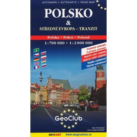 POLSKO & STŘEDNÍ EVROPA-TRANZIT