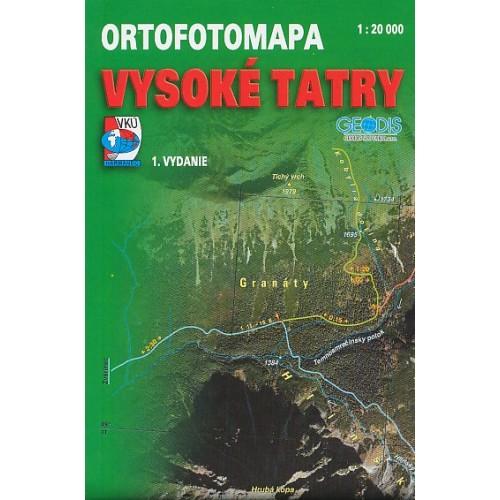 VYSOKÉ TATRY-ORTOFOTOMAPA