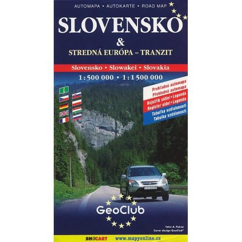 SLOVENSKO & STŘEDNÍ EVROPA-TRANZIT