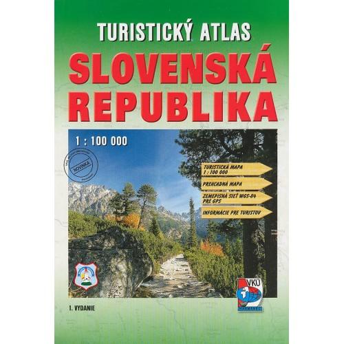 TURISTICKÝ ATLAS-SLOVENSKÁ REPUBLIKA