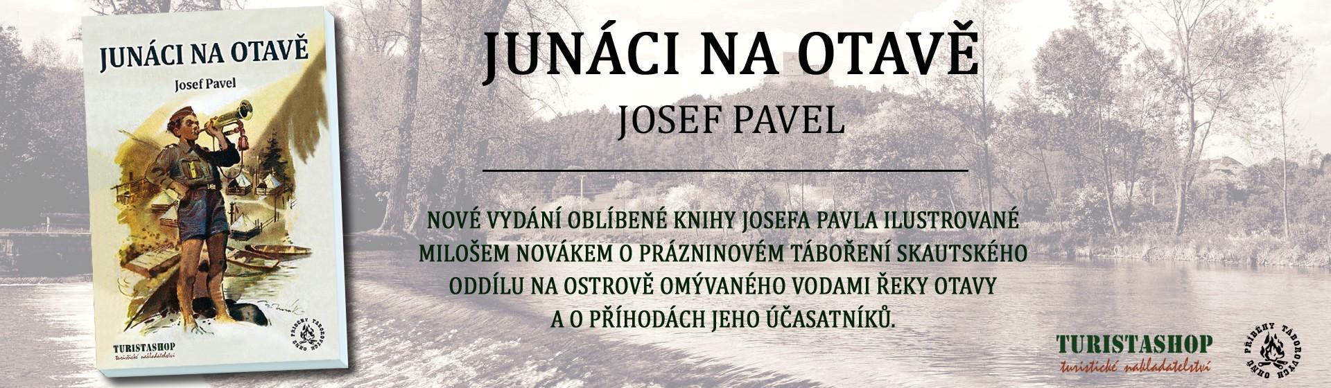 Kniha Junáci na Otavě